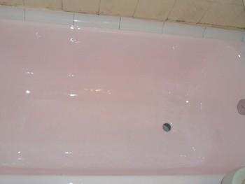 Эмалировка старой ванны
