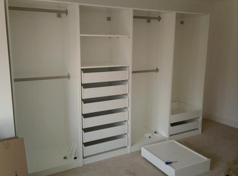 Сборка гардероба
