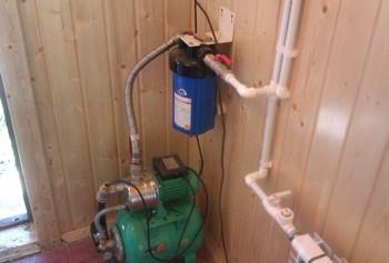 Ремонт системы водоснабжения в частном доме