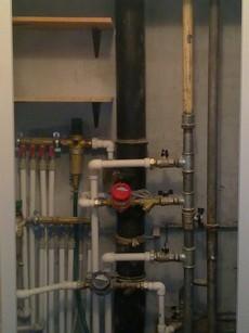 Замена труб холодного и горячего водоснабжения
