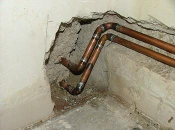 Замена труб водоснабжения на медные