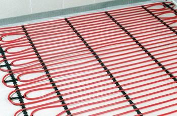Теплый пол с водяным подогревом