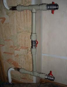 Процесс установки радиатора отопления