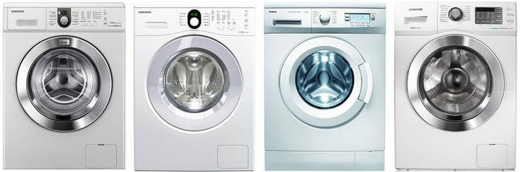 Установка стиральных машин с фронтальной загрузкой